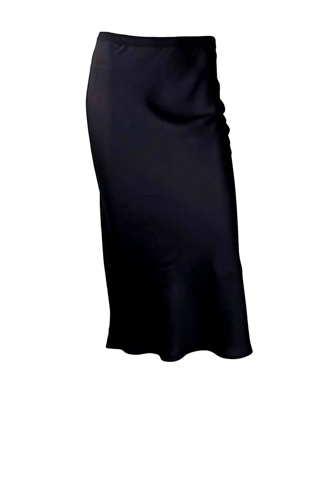 Anine Bing Bar Silk Skirt - Front Cropped Image