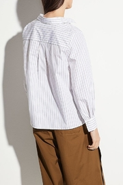 Vince Bar Stripe Top - Front full body