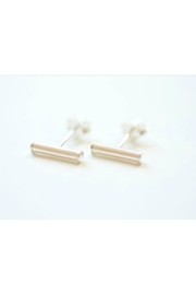 Simply Chic Bar Stud Earring - Product Mini Image