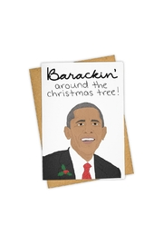 Tay Ham Barackin' Holiday Card - Front cropped