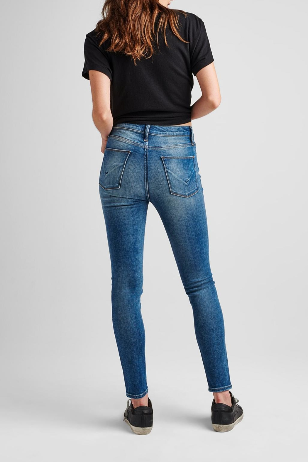 Hudson Jeans Barbara Ankle Skinny - First-Date - Side Cropped Image