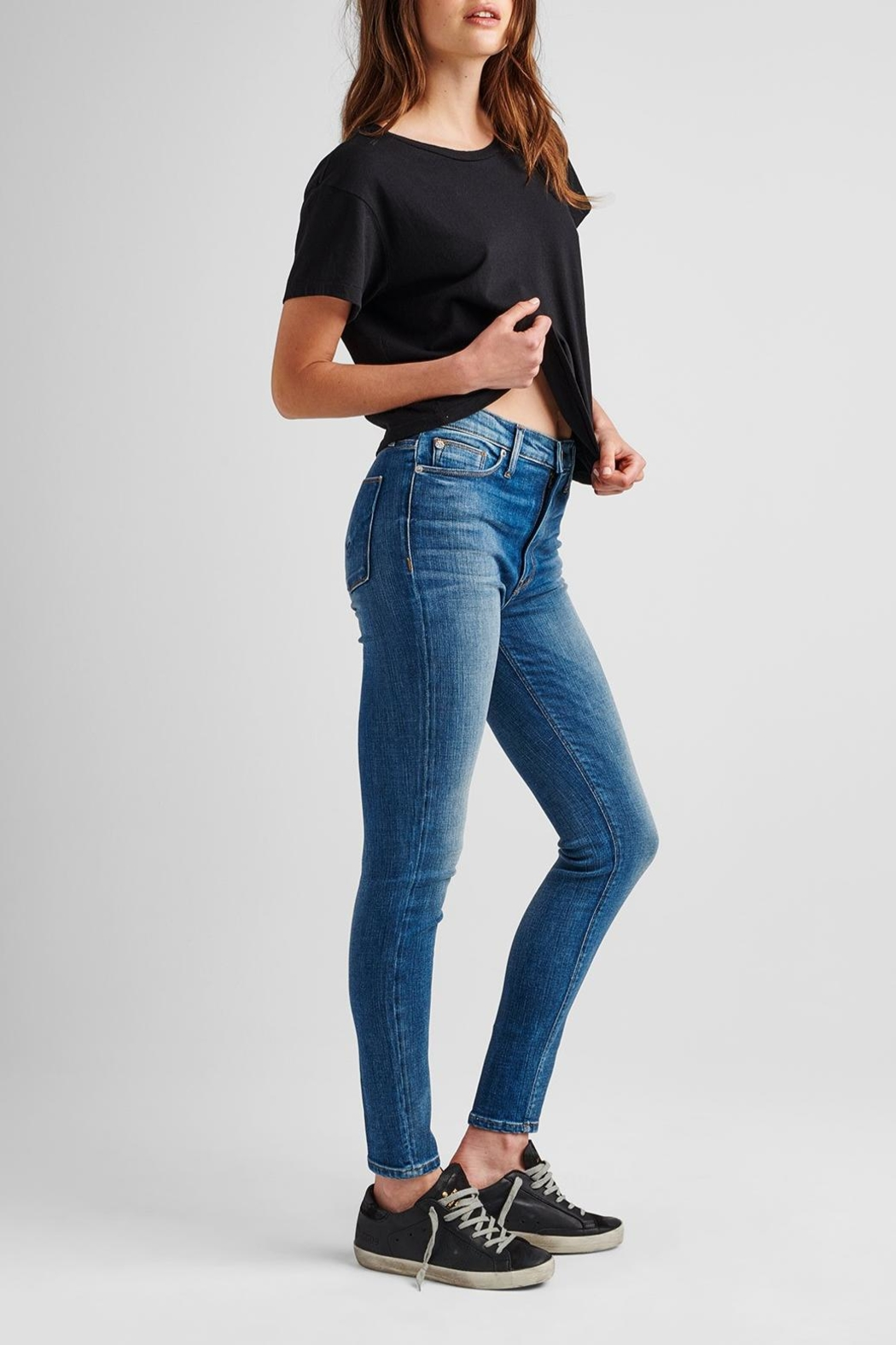 Hudson Jeans Barbara Ankle Skinny - First-Date - Front Full Image