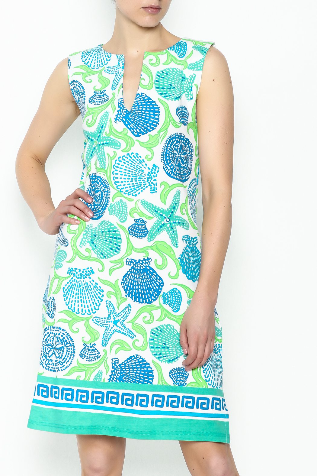 Barbara Gerwit Beach Comber Dress - Front Cropped Image