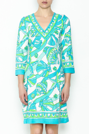 Barbara Gerwit Beach Shells Dress - Front full body