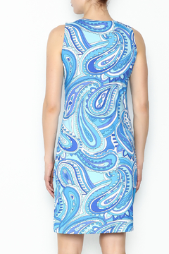 Barbara Gerwit Paisley Print Dress - Alternate List Image