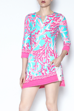 Shoptiques Product: Pink Sea Tunic Dress