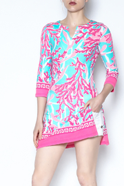 Barbara Gerwit Pink Sea Tunic Dress - Product Mini Image