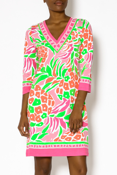 Barbara Gerwit Engineered Colorful Dress - Product List Image