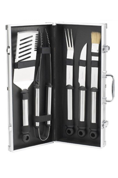 Picnic at Ascot  Barbecue Set in Aluminum Case - Product List Image