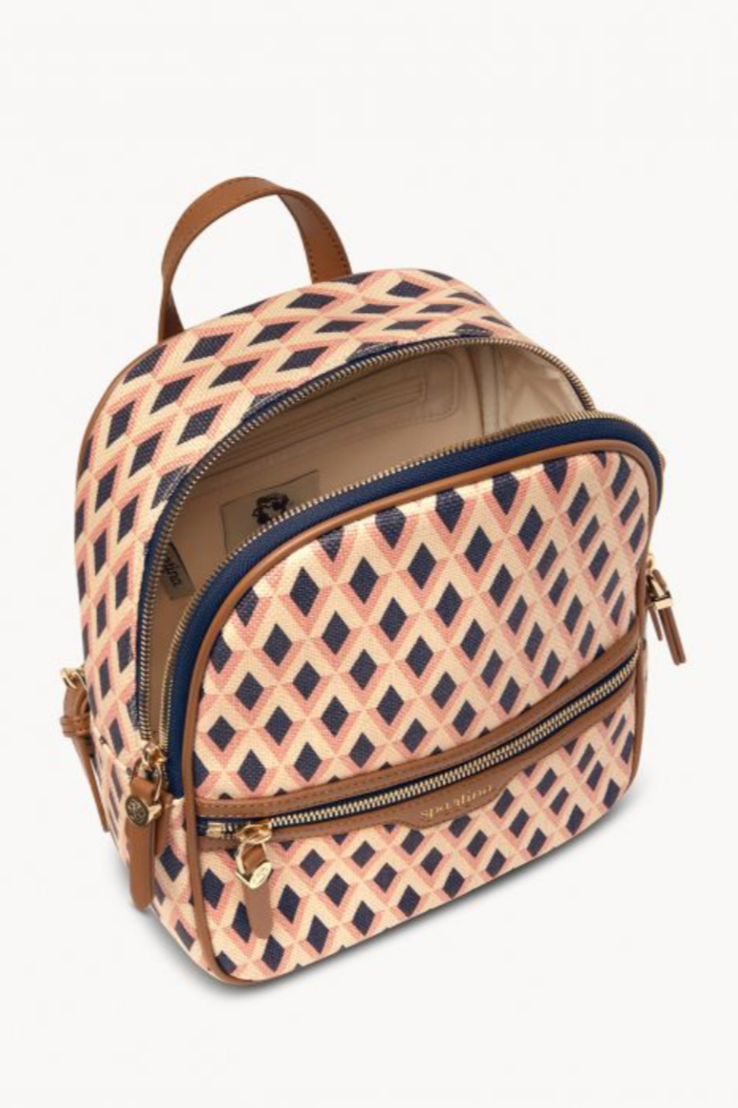 Spartina 449 Barbee Chloe Backpack - Front Full Image