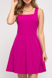 She and Sky Barbie Girl dress - Front cropped