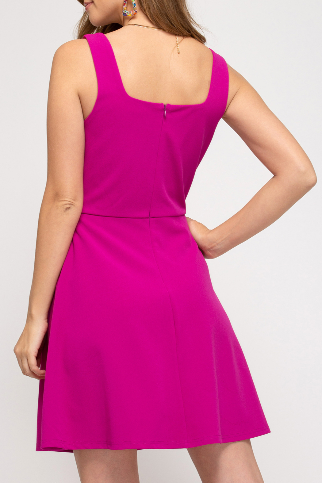 She and Sky Barbie Girl dress - Front Full Image