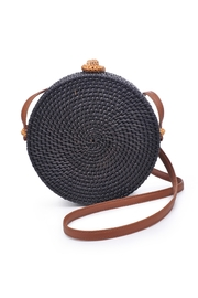 Urban Expressions Barcelona Round Straw Bag - Product Mini Image