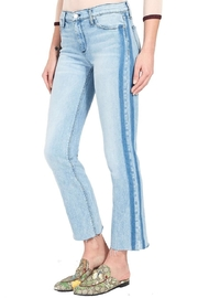 Black Orchid Denim Bardot Racer Stripe - Product Mini Image
