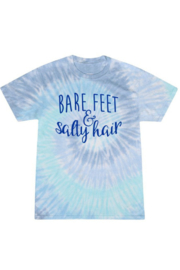 OCEAN & 7TH Bare Feet & Salty Hair graphic tee - Product Mini Image