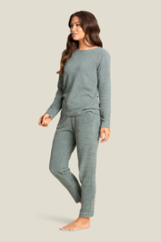Barefoot Dreams Cozychic Ultra Lite Everyday Pants - Front full body