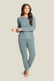Barefoot Dreams Cozychic Ultra Lite Rolled Neck Pullover - Product Mini Image