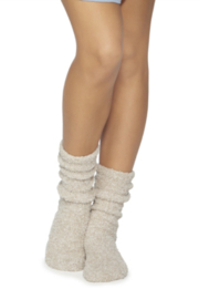 Barefoot Dreams Cozychic Women's Heathered Socks - Front cropped