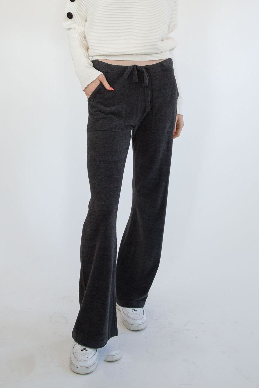Barefoot Dreams Carbon Sweatpants - Main Image