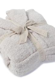 Barefoot Dreams Cozy Heathered Robe - Front full body