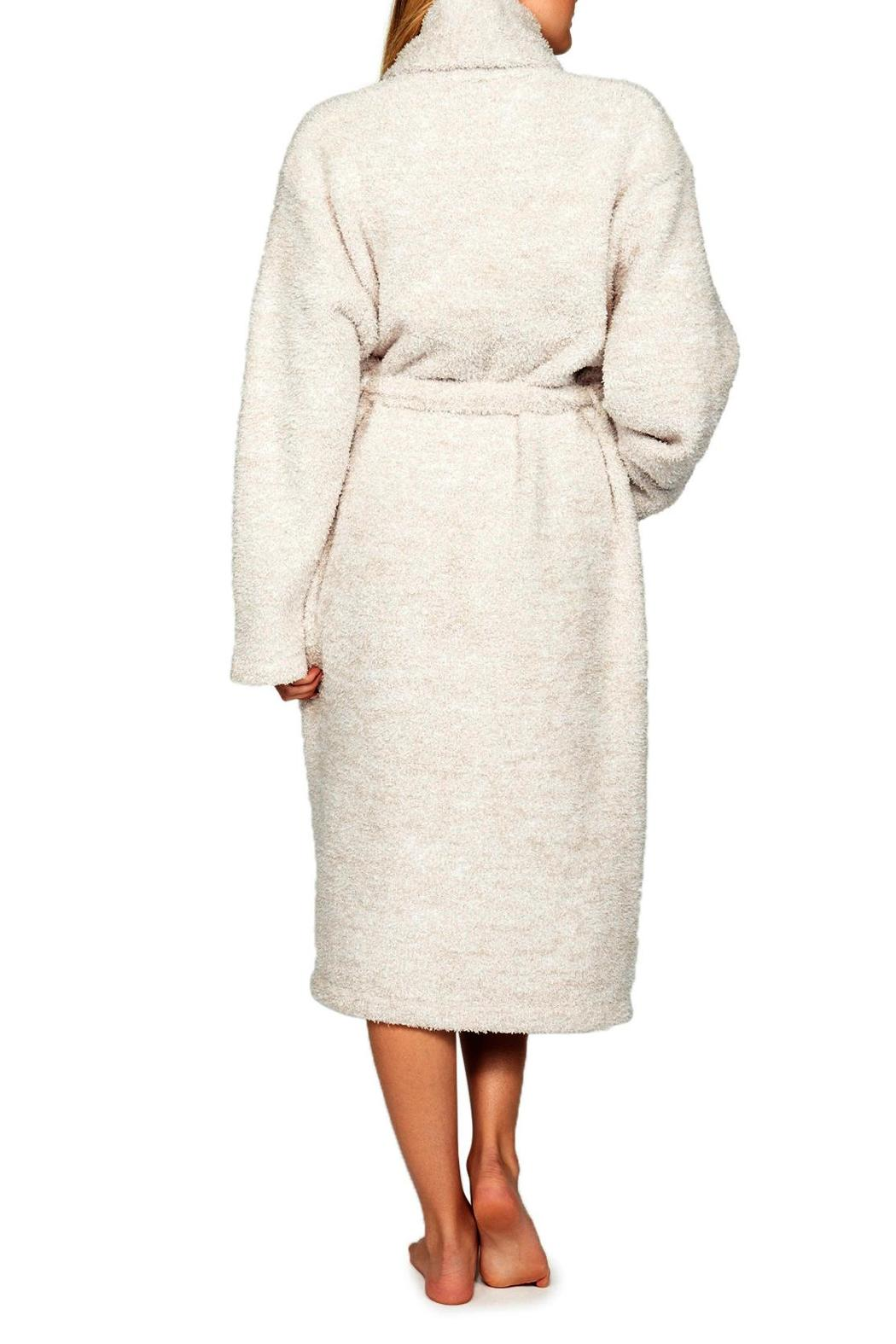 Barefoot Dreams Cozy Heathered Robe - Front Cropped Image