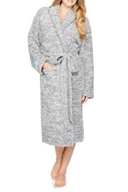 Barefoot Dreams Cozy Heathered Robe - Front cropped