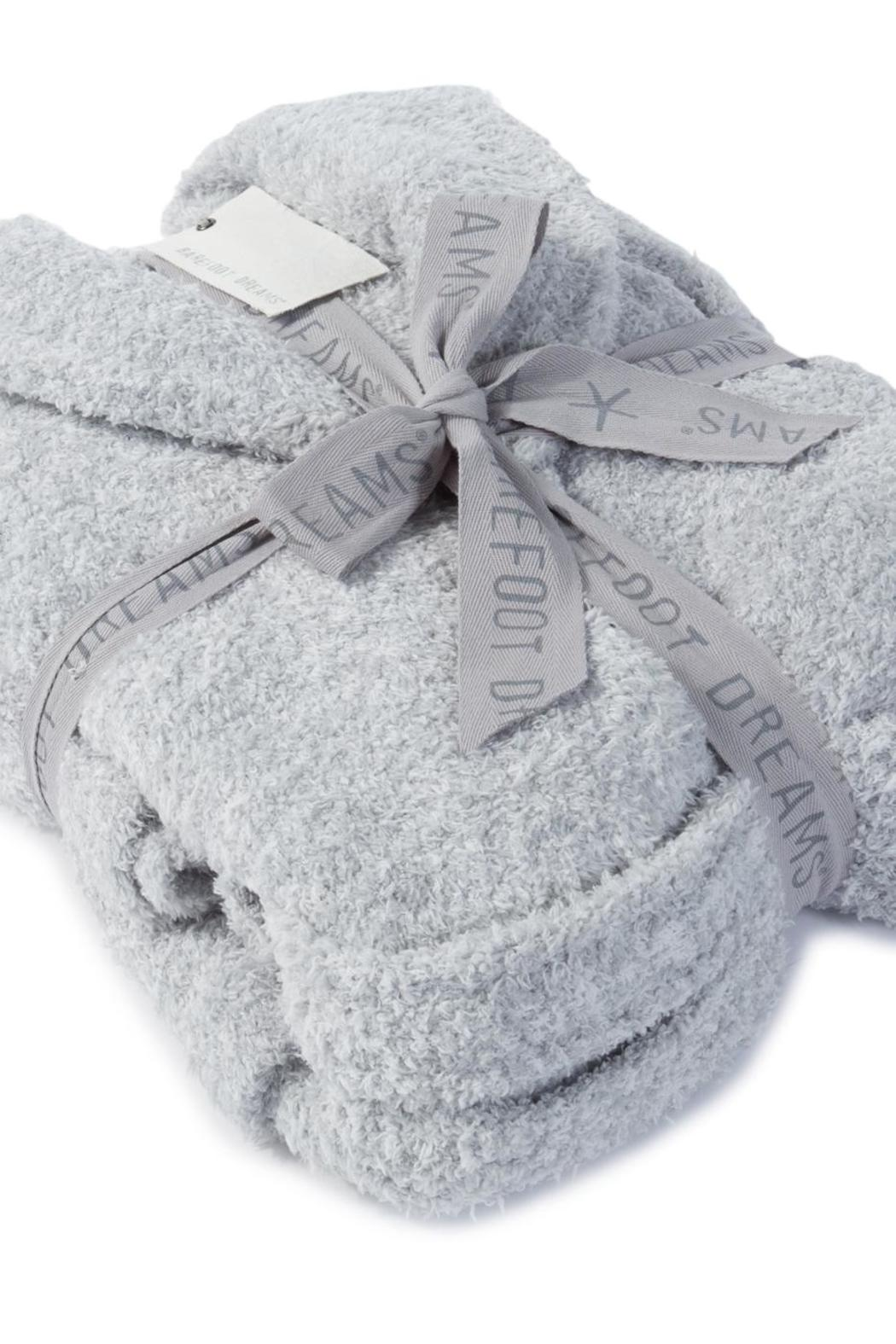 Barefoot Dreams Cozy Heathered Robe - Back Cropped Image