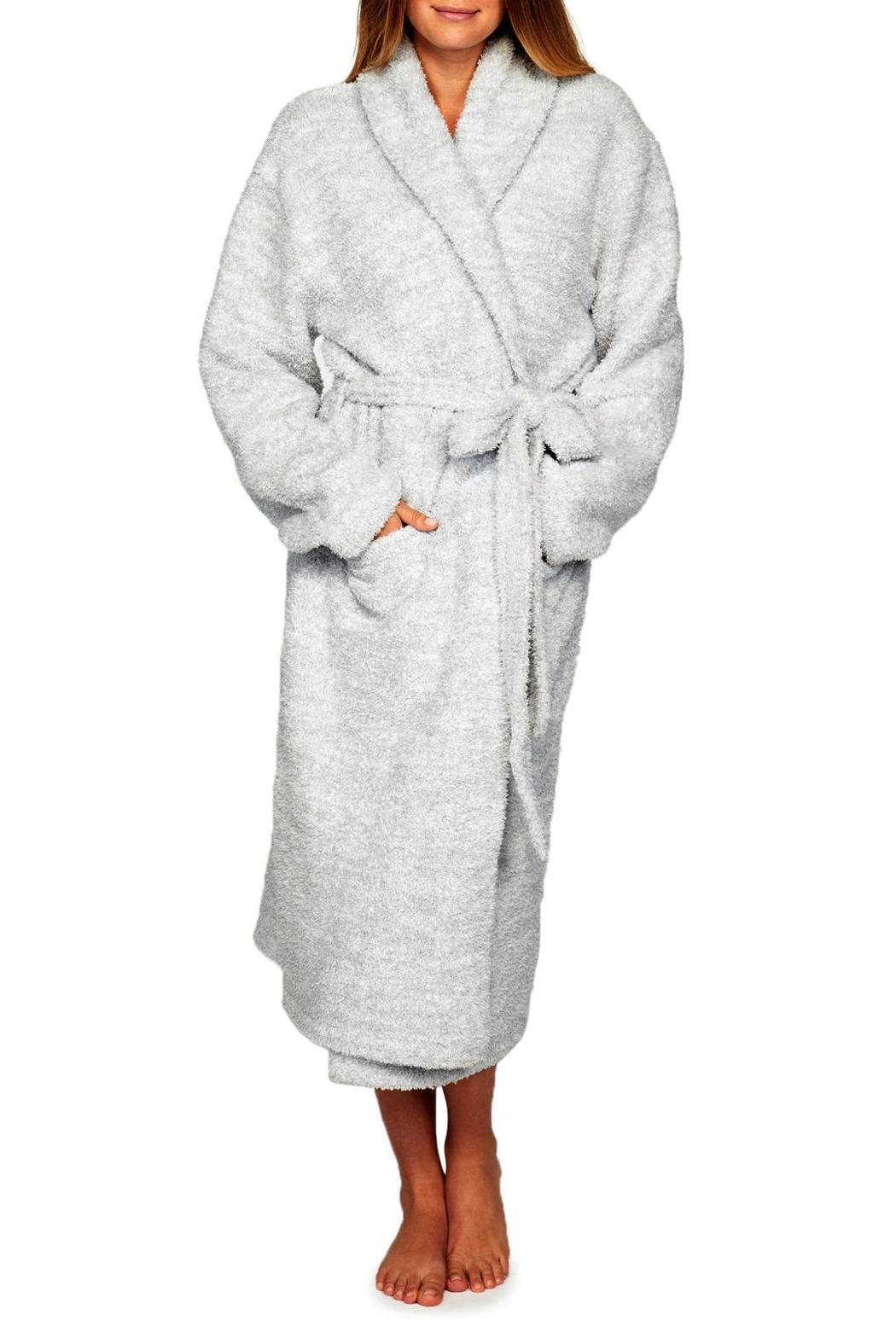 Barefoot Dreams Cozy Heathered Robe - Front Full Image