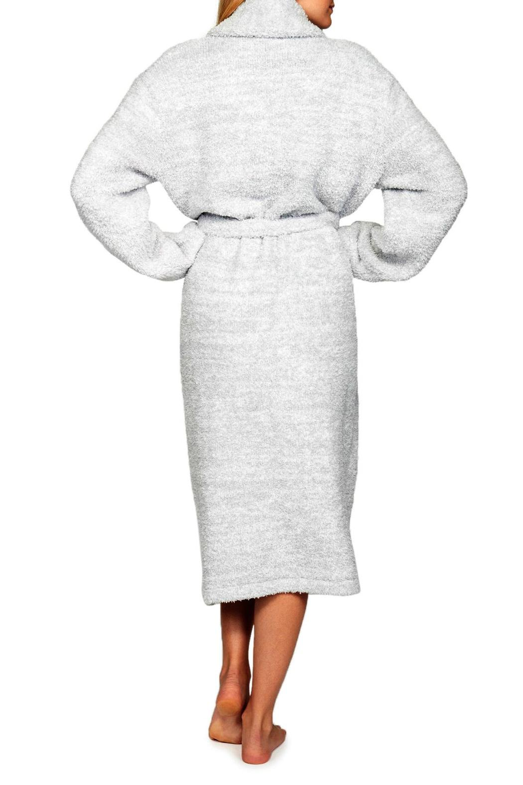 Barefoot Dreams Cozy Heathered Robe - Side Cropped Image