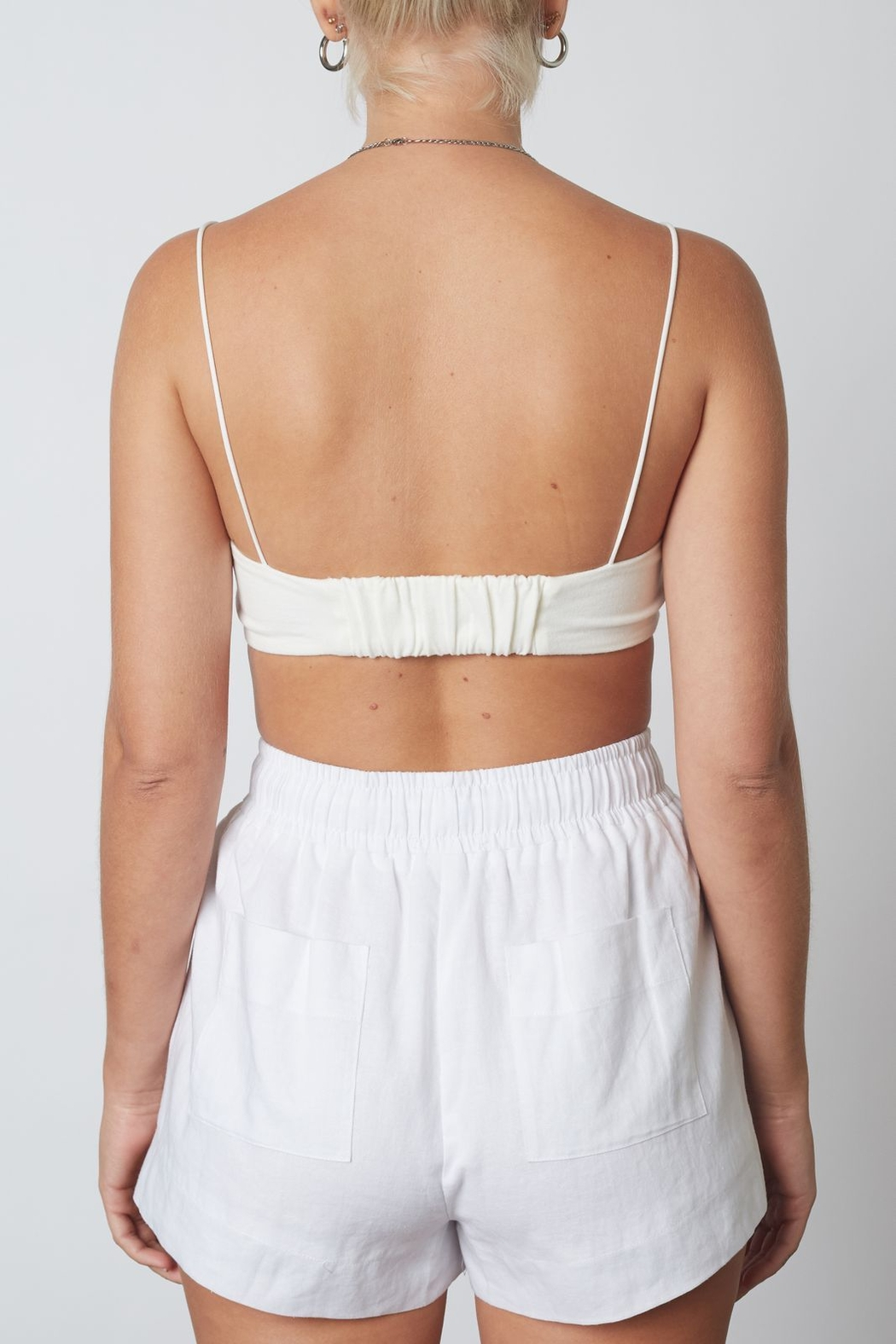 NIA Barely There Bralette - Back Cropped Image