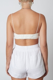 NIA Barely There Bralette - Back cropped