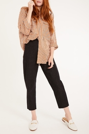 Lovan M Bari Orange Shirt - Front cropped