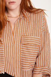 Lovan M Bari Orange Shirt - Side cropped