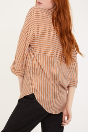 Lovan M Bari Orange Shirt - Back cropped