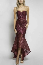 Bariano Gown Moss - Product Mini Image