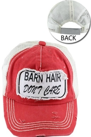 Imagine That Barn Hair Hat - Front cropped
