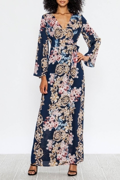 Flying Tomato Baroque Flowers Maxi - Product List Image