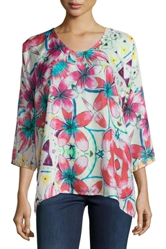 Johnny Was Barra Floral Blouse - Product List Image