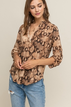 Lush Clothing  Barracuda Blouse - Product List Image