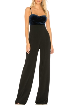Jay Godfrey Barret Velvet Jumpsuit - Alternate List Image