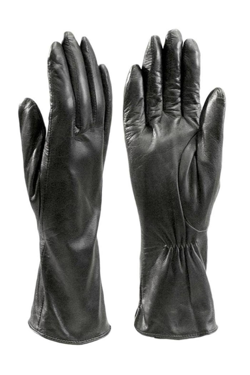 Ladies leather gloves large - Bas Ladies Leather Gloves Front Cropped Image