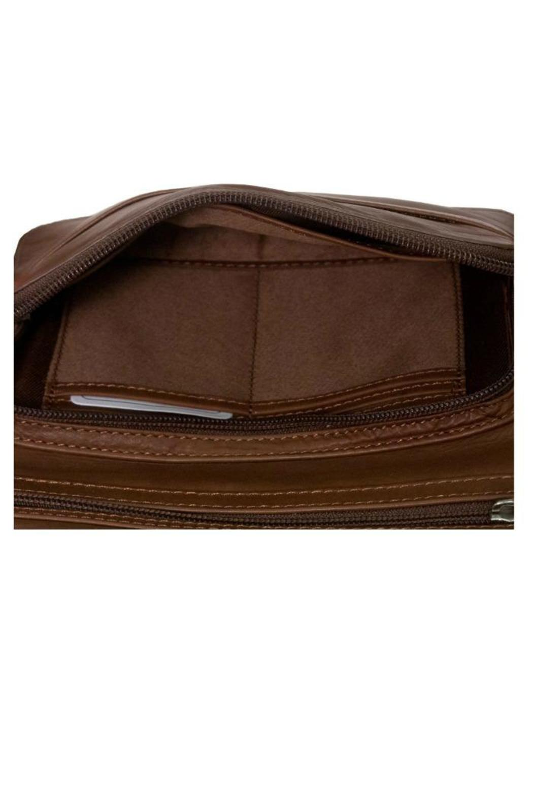 BAS Leather Cross-Body Bag - Side Cropped Image