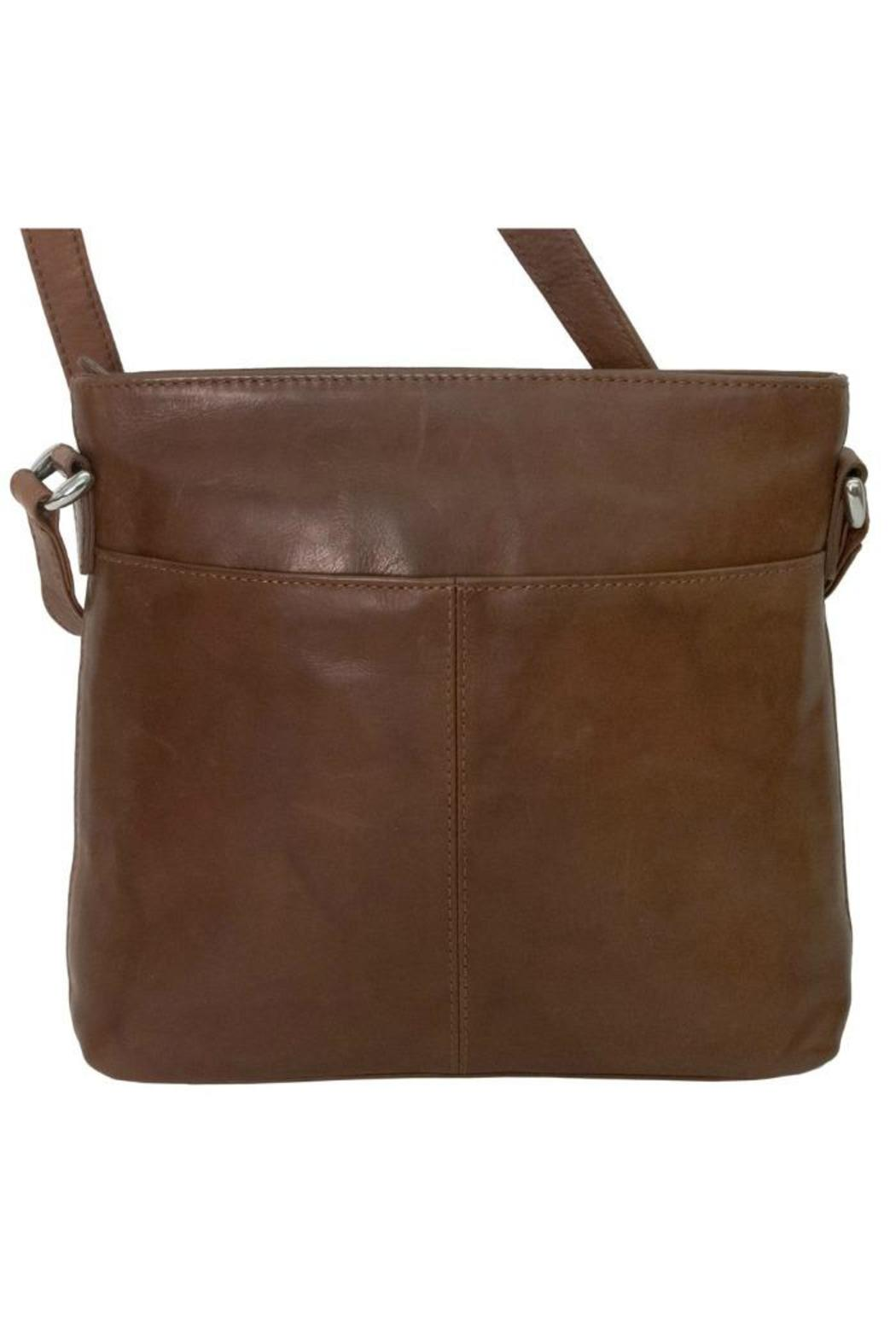 BAS Leather Cross-Body Bag - Front Full Image