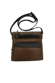 BAS Leather Cross-Body Bag - Front cropped