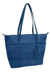 BAS Leather Tote Bag - Front cropped