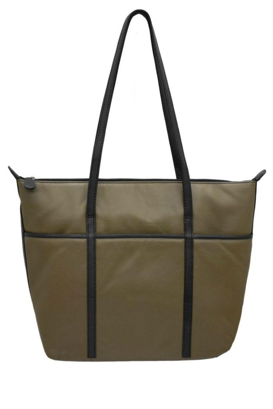 BAS Leather Tote Bag - Main Image