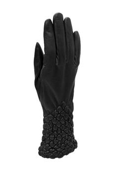 Shoptiques Product: Quilted Leather Gloves