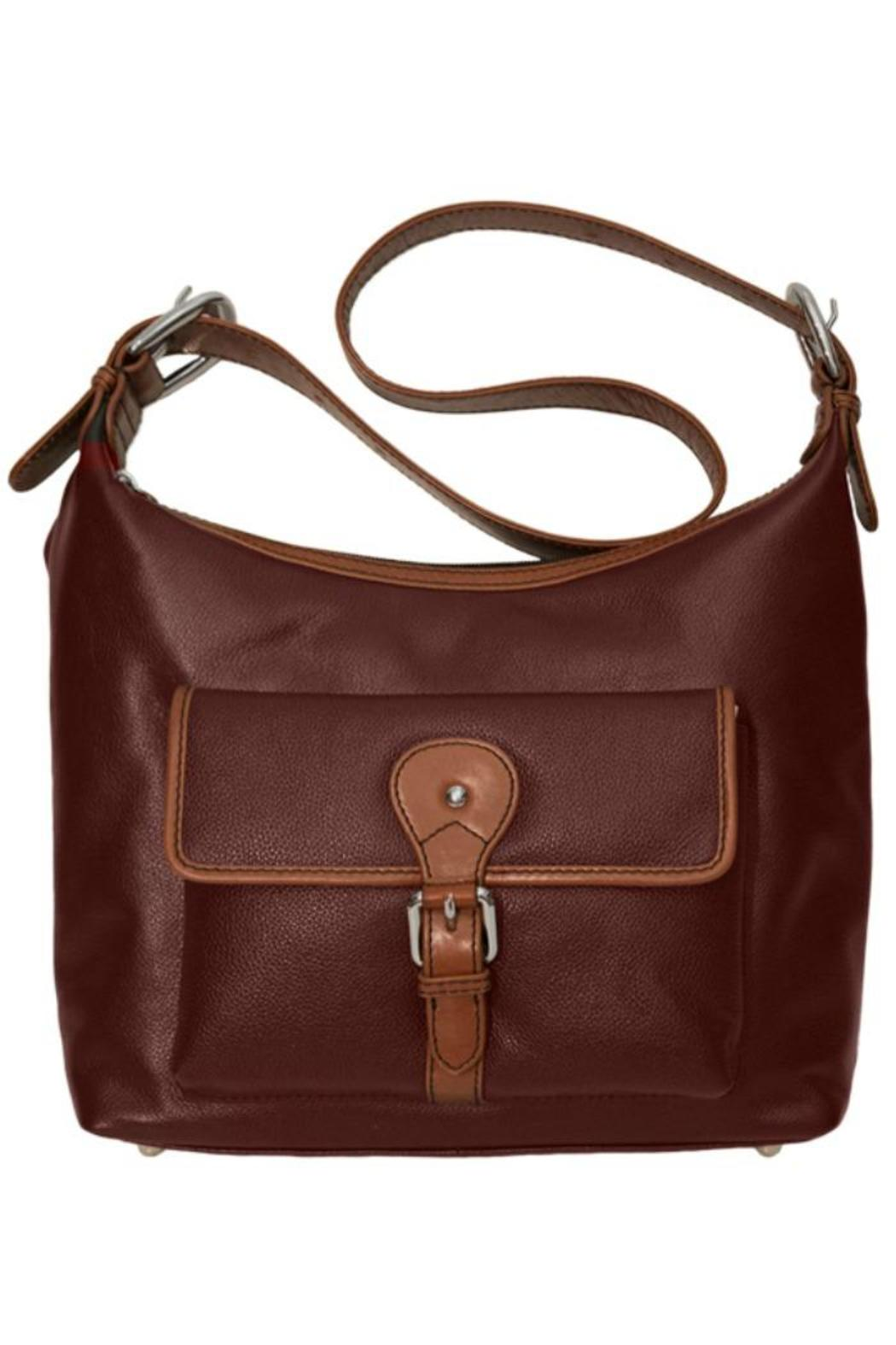 BAS Zip Hobo Bag - Front Cropped Image