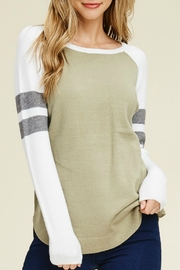Starrs On Mercer Baseball Sweater - Front cropped