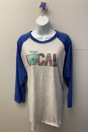 "Kindred Mercantile  Baseball tee ""Local"" - Product Mini Image"